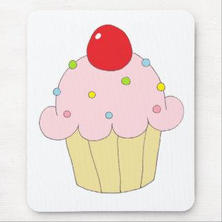 Pink Cupcake Mouse Pad