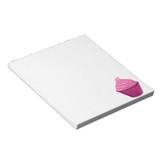 Pink Cupcake Memo Notepads