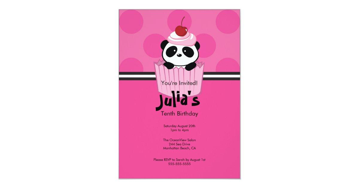 1st Birthday Cupcake Invitations