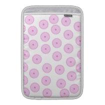 Pink Cupcake Pattern. MacBook Sleeve