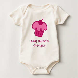 Pink Cupcake Personalized Infant T-Shirt