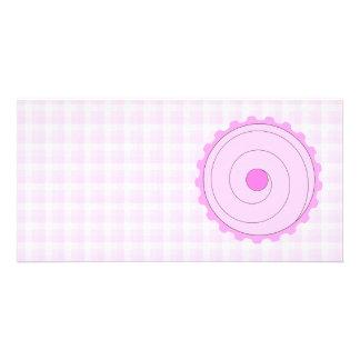 Pink Cupcake. Photo Card
