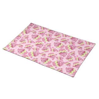 Pink Cupcake Placemat