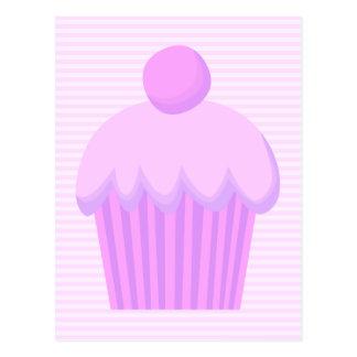 Pink Cupcake. Postcard