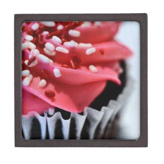 Pink Cupcake Premium Jewelry Box