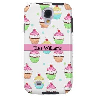 Pink Cupcake Samsung Galaxy S4 Case