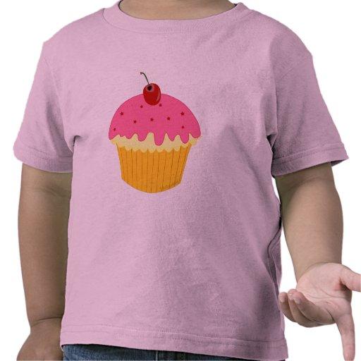 Pink Cupcake Tshirts