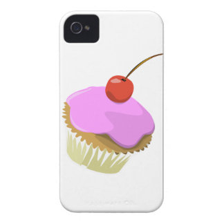 Pink cupcake with cherry Blackberry Bold case
