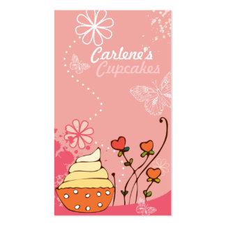 Pink Cupcakes Business Card
