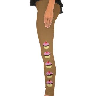 Pink Cupcakes Leggings