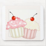 Pink Cupcakes Mouse Pad