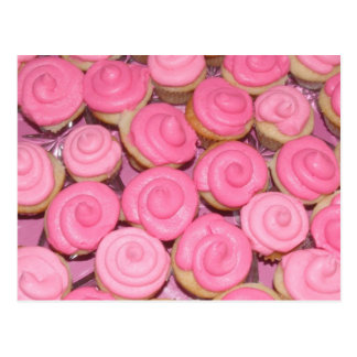 Pink Cupcakes Post Cards