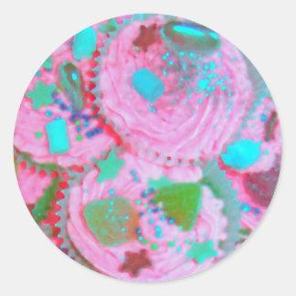 Pink Cupcakes sticker