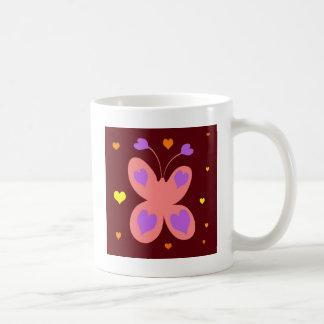 Pink Cute Butterfly Mug