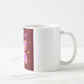 Pink Cute Butterfly Coffee Mug