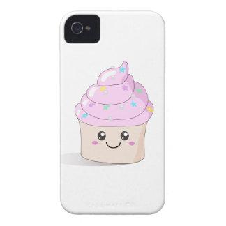 Pink Cute Cupcake iPhone 4 Case