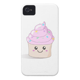 Pink Cute Cupcake iPhone 4 Case-Mate Case