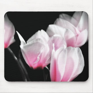 Pink Cyclamen Mouse Pad