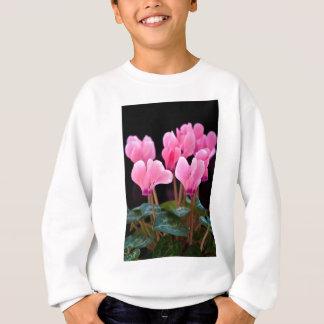 Pink Cyclamen Sweatshirt