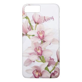 Pink Cymbidium Orchid Floral Flower iPhone 8 Plus/7 Plus Case