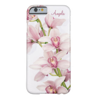 Pink Cymbidium Orchid Floral iPhone 6 case