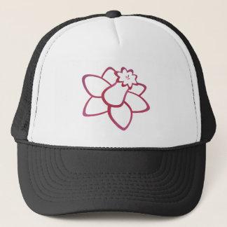 Pink Daffodil Trucker Hat
