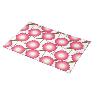 Pink Dahlia American MoJo Placemats