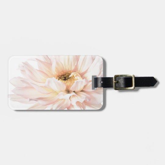 Pink Dahlia Artwork - Keywords: dahlia; beautiful; Luggage Tag