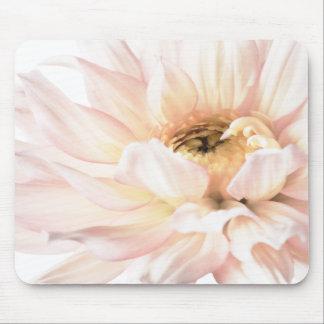 Pink Dahlia Artwork - Keywords: dahlia; beautiful; Mouse Pad