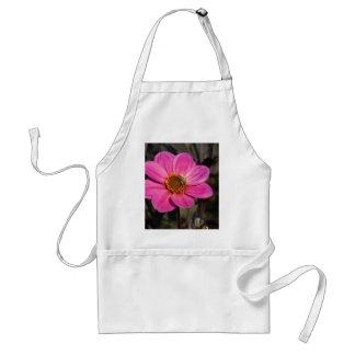 Pink Dahlia & Bee DSC6071 Adult Apron