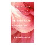 Pink Dahlia Busines Card  Business Cards