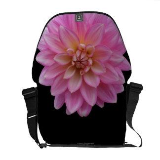 Pink Dahlia Courier Bag
