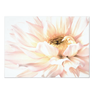 Pink Dahlia Flower - Dahlias Customized Template Personalized Invites