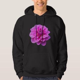 Pink Dahlia (Isolated) Hooded Sweatshirt
