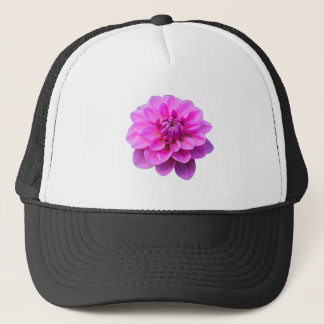 Pink Dahlia (Isolated) Trucker Hat
