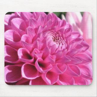 Pink Dahlia Mousepad