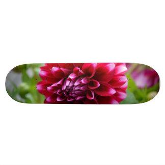 Pink Dahlia Skate Board Deck