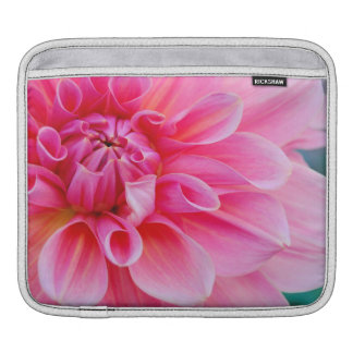Pink Dahlia Sleeve For iPads