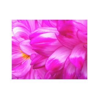 "Pink Dahlia's #2, 14"" x 11"", 1.5"", Single Canvas Print"