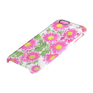 Pink Daisies / Asters Bouquet + your ideas Uncommon Clearly™ Deflector iPhone 6 Case
