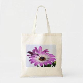 Pink daisies - bag