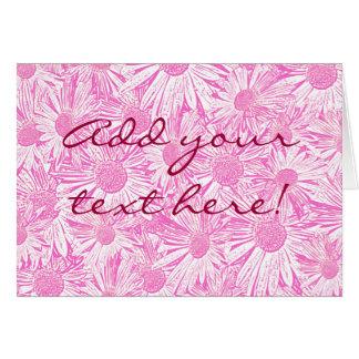 Pink Daisies Card