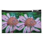Pink Daisies Cosmetic Bag