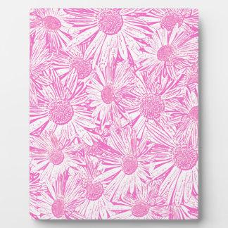 Pink Daisies Display Plaque