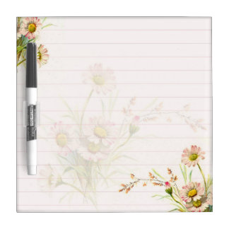Pink daisies Dry-Erase board
