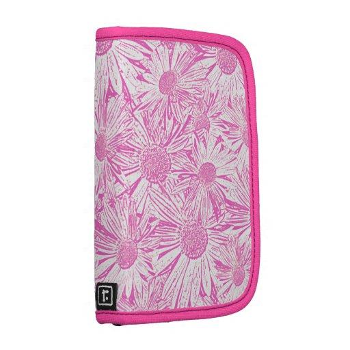 Pink Daisies Folio Planner