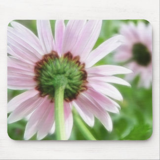 Pink Daisies - Front and Back Mouse Pad