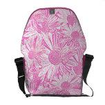 Pink Daisies Messenger Bag