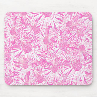 Pink Daisies Mouse Pad