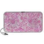 Pink Daisies Mp3 Speaker